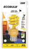 BULB-HOUSEHOLD CFL 13W YLW BUG MED BASE