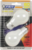 BULB-FAN INCAN 60W A15 WHT MED BASE 2PK