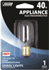BULB-APPLIANCE  INCAN 40W T8  CLEAR INTR