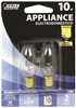 BULB-APPLIANCE  INCAN 10W C7  CLEAR CAND