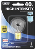 BULB-HI INTENSITY 40W S11 CLR INT BASE
