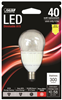 BULB-FAN LED E12 4.5W  2700K CAND
