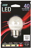 BULB-GLOBE LED G16 4.8W 3000K MED  BASE