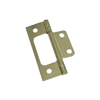 "HINGE-FLUSH/FULL INSET 3"" BRASS N146-951"