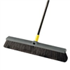 "Broom-Push W/Hndl 24"" Bulldozer 00533 Smooth Surfaces 0"