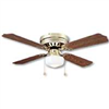 "Ceiling Fan Boston Harbour 42"" Polished Brass 1 Lite  Huger 	CF-78125 0"