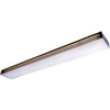 "Light Fixture Fluorescent*D*48""X2 T8 4WP3040R/ Tw232R8 2Bulb 4' White End W/Wraparound 0"