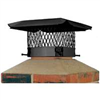 Chimney Cap 13X13 Black Sc1313 0