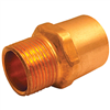 "Copper Fitting .50""X.75"" Male Adapter Cxmip 0"