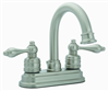 Faucet-Banner Lavatory 2 Handle Brushed Nckel 696-B 0