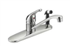 Faucet Banner Kitchen 1 Handle Brushed Nickel w/ Spray 572-Bn 0