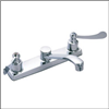 Faucet Banner Kitchen 2 Handle Chrome 421 0