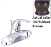 "Faucet-Banner Lavatory 1 Handle Oil Rubbed Bronze W/Pop Up & 20""Supply Lines 902-B 0"