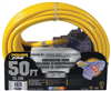 Extension Cord 12/3 3 Outlet 50' Tri Powerzone Orp611830 0