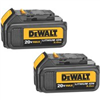 Battery Pack-Dewalt   20V Lithium 3A 2Pk 3 Amps Dcb204-2 0