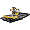 "Ceramic Tile Saw 10"" Wet Tile Saw D2400  Comes With D2401 Stand 0"