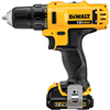 Drill*D*Dewalt 12V  Lithion Ion Dcd710S2  W/2Batteries / Charger / Belt Hook 0