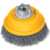 Grinding Cup Brush-Dw4920 3X5/8-11 Crimp 0