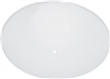"Glass Shade Round Clear Dot 13"" 8189100 0"