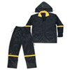 Rainsuit-Large  Blk Nyl 3Pc R103L 0