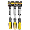 "Chisel Set Wood 3Pc 1/2"",3/4"",1"" Fatmax 16-970 0"