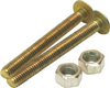 "Toilet Bowl Screws 192256  1/4""X2.25"" 0"