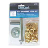 "Grommet Tool Kit 1/2"" Brass Plated 30 Pc 0"
