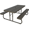 Picnic Table-6' Folding Resin Puttytop 0