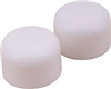 Toilet Bolt Caps 2489555 Round White 0