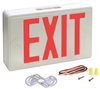 Light Fixture Exit Sign w/ Motion Inccx20Rgwh 673061 0