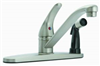 Faucet Banner Kitchen 1 Handle Chrome With Spray 572 0