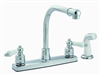 Faucet Banner Kitchen 2 Handle Chrome High Arch 751-Sc 0