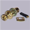 Mobile Home Lockset Privacy Polished Brass D-600B 0