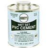 Cement Pvc 32Oz Wet Set Blue 018430-12 0