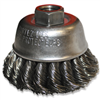 "Grinding Cup Brush-72757 2-3/4""X5/8""-11 1136 Knotted Wire 0"