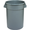 Trash Can 32Gal Plastic Huskee 3200Gy-Bp 0