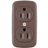 Receptacle *D*  Surface Mount Brown Grounded 91 0