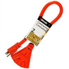 Extension Cord 12/3 3 Outlet 2' Powerzone ORAD50802 0