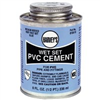 Cement Pvc  8Oz Wet Set Blue 018410-24 0