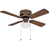 "Ceiling Fan Boston Harbour 42"" Venitan Bonze 1Lt Hugger CF-78125-ORB 0"