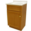 "Vanity-18""X16"" Oak Heartland W/Top 1Door Heo1816 0"