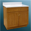 "Vanity-24""X18"" Oak Heartland W/Top 2Door Heo2418 0"