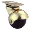 "Floor Care Caster Ball Polypropylene Resin Brass Swivel 1-5/8""Jc-E01 0"
