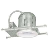 "Recess Light 6"" New Construction Insulated Can w/ White Baffle&Trim 7"" Kt6/5509BICG3L 0"