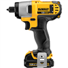 "Drill Dewalt 1/4"" Impact Driver Lithium Ion Kit 12V Dcf815S2 0"