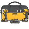 Drill*S*Dewalt 20V Lit.Dck285C2 Combo Kt Lithium Ion Compact Hammer Drill/Driver 0