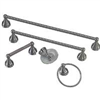 Bath Assortment 5Pc Brushed Nickel 0