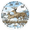 "Thermometer 12"" Country Deer 6709E 0"