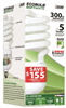 Bulb Household Cfl 65W Soft White Medium Base Twist Esl65Tn 0