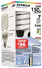 Bulb Household Cfl 40W Daylight Medium Base Twist Esl40Tn/D 0